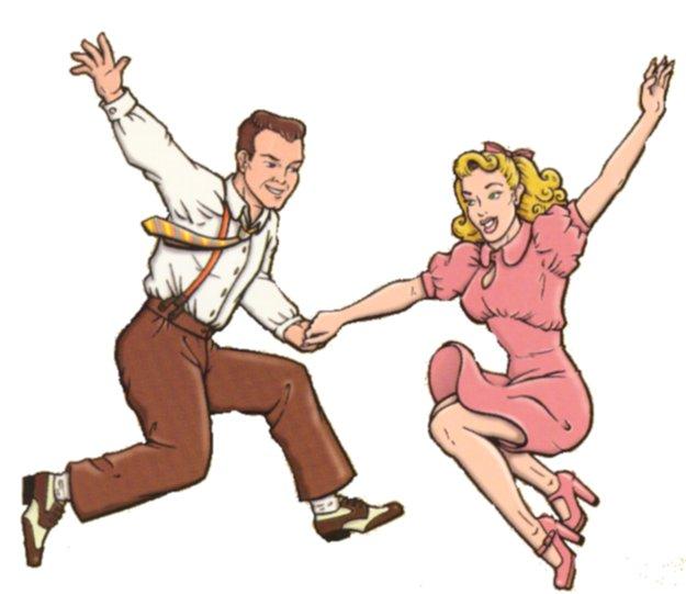 Rock 'n' Swing tanssit Kouvolan Terpsikerhossa