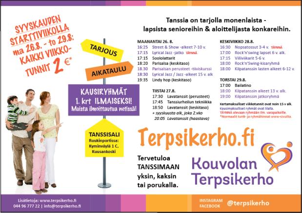 PK-mainos-Terpsikerho